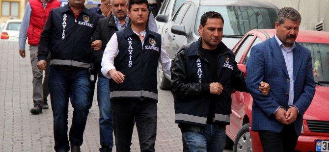 Kayseri'de engelli raporu alıp emekli yapan çete çökertildi