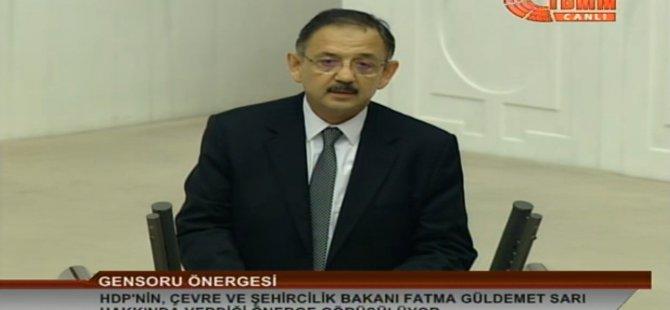 Özhaseki'den Osman Baydemir'e Belediyecilik dersi