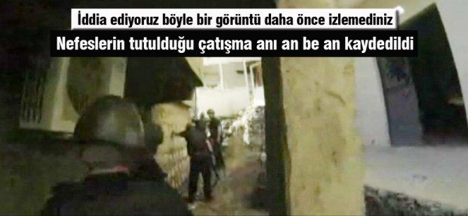 Şırnak'ta Teröristlerle çatışma anı kamerada