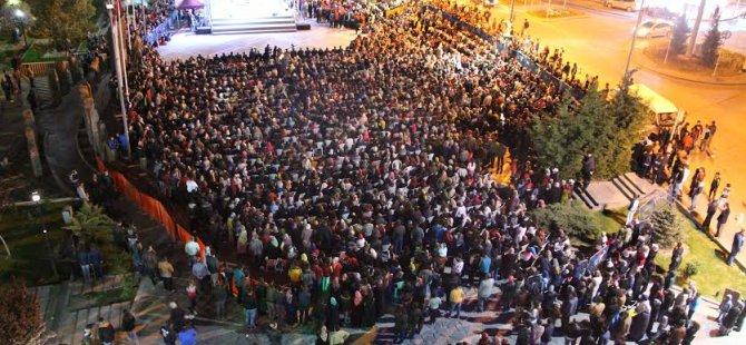 Develi'de 5 bin kişinin katıldığı Kutlu doğum programı