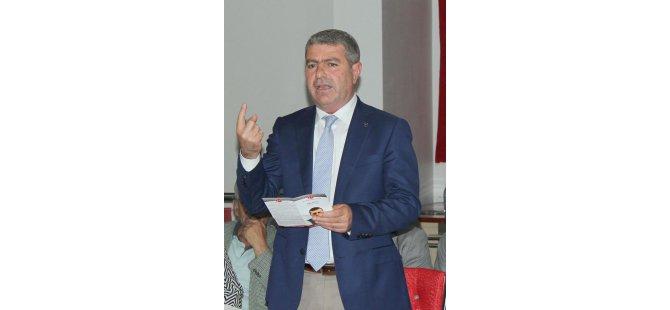 MHP ESKİ MV.KORKMAZ,ÖZDAĞ'IN TOPLANTISINA KATILANLARA TEPKİ GÖSTERDİ