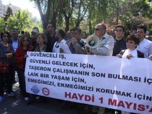 DİSK 'İŞÇİLERİ' 1 MAYIS KUTLAMALARINA DAVET ETTİ
