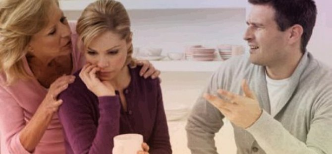 Kaynana ile yaşamak  artık boşanma sebebi