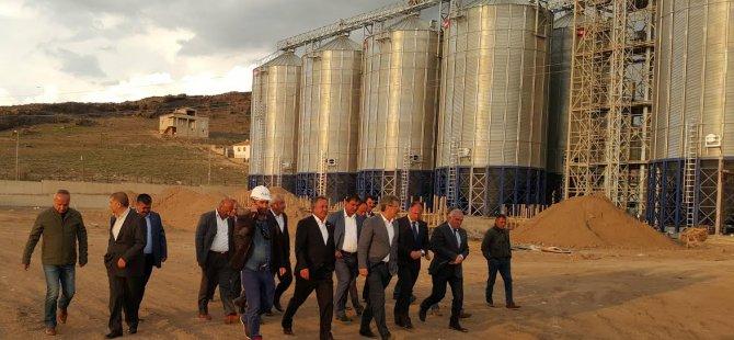 Kayseri Şeker'de 40 Milyon TL'ye mal olan Lisanslı depo yatırımı