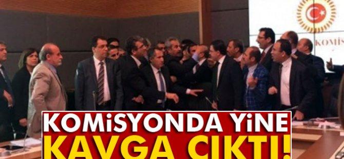 Meclis komisyonunda yine kavga çıktı-video