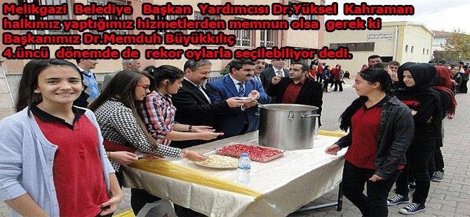 "DR.YÜKSEL KAHRAMAN ""EN İYİ NOTU HALK VERİR"""