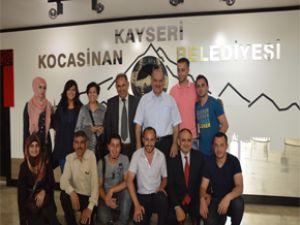Kocasinan Belediyesi'ne Kudüs'ten Misafir Geldi