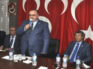 KAYSERİ MHP İL DEVELİ'DE İSTİŞARE TOPLANTISI: