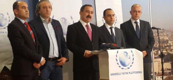 Anadolu Yayıncılar Derneği Başkanı Burhan Açıklaması
