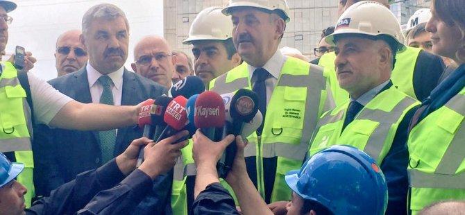 """Müezzinoğlu: """"Cumhurbaşkanımıza Kayseri'den teşekkür ediyorum"""