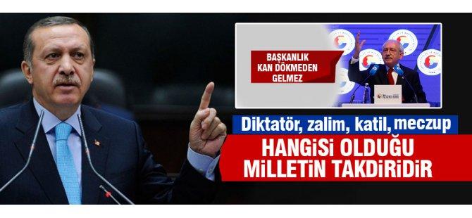 Cumhurbaşkanı Kılıçdaroğlu'na yüklendi Milletten yanamısın terörden yanamısın