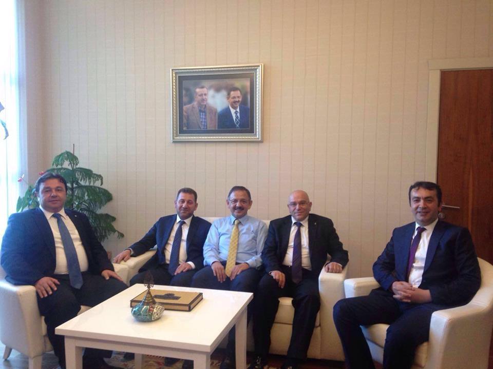 AK PARTİ KAYSERİ'DEN ANKARA ÇIKARMASI