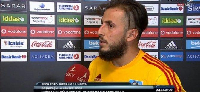 Kayserispor'un yıldızıdan açıklama Haklarını helal etsinler