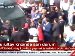 MHP'li Delegeler arasında yumruklu kavga-video