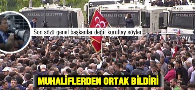 Polis Yusuf Halaçoğlu,na gecit vermedi