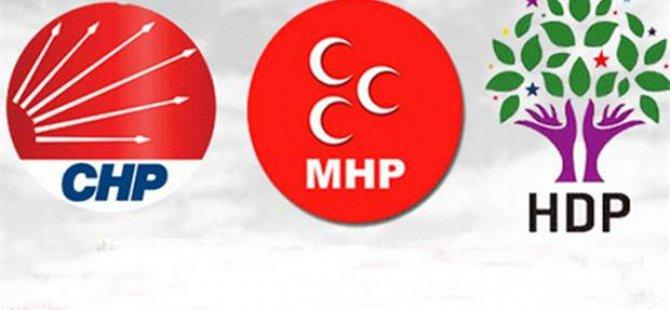 MHP-HDP-CHP ortaklığına doğru......