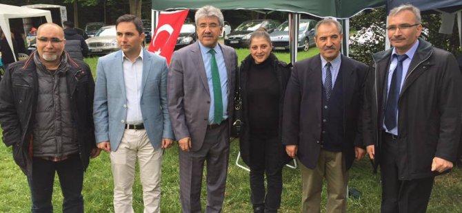 BAŞKAN ALİ ERGÜL ALMANYA'DA FESTİVALE KATILDI