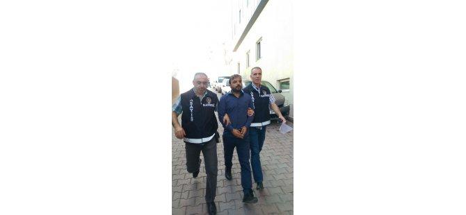 KAYSERİ'DE SAHTE POLİS ALTINLARLA BİRLİKTE YAKALANDI