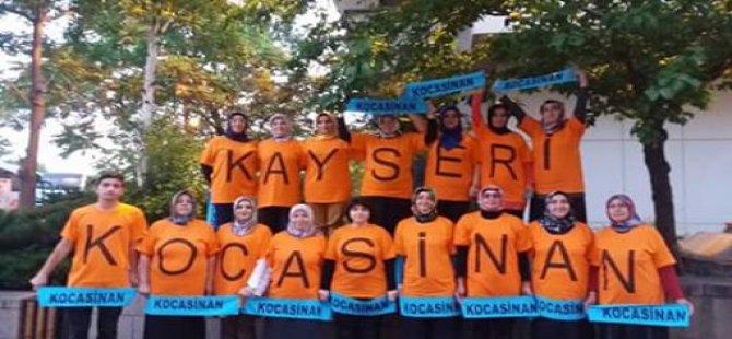 AK PARTİ  KOCASİNAN  ANKARA'YA ÇIKARMA YAPTI