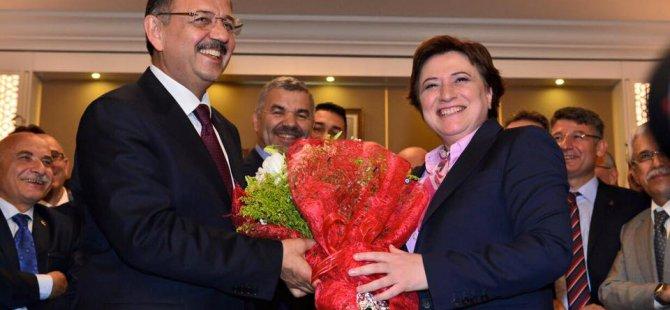Özhaseki, görevi Fatma Güldemet Sarı'dan devraldı