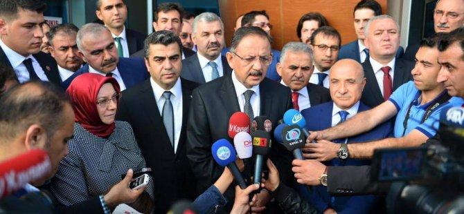ÖZHASEKİ ERKİLET HAVAALANI'NDA COŞKUYLA KARŞILANDI