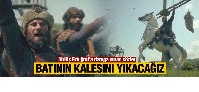 Diriliş Ertuğrul'da geceye damga vuran sahne Video