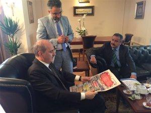 Numan Kurtulmuş'tan Yeni Konya Gazetesi'ne tebrik