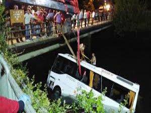 Osmaniye-Kozan karayolu öğrenciler kaza yaptı: 14 ölü, 23 yaralı