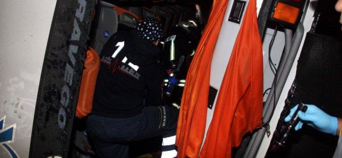 Yozgat'ta yolcu otobüsü devrildi: 3 ölü, 15 yaralı