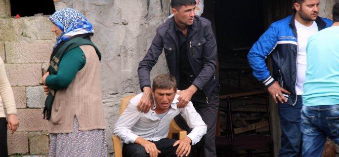 ŞEHİT KIRBOĞA'NIN ACI HABERİ KAYSERİ'DEKİ AİLESİNE ULAŞTI