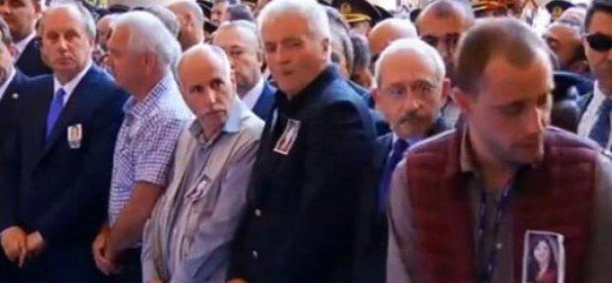 Şehidin eşi Kılıçdaroğlu'nun yanında durmak istemedi