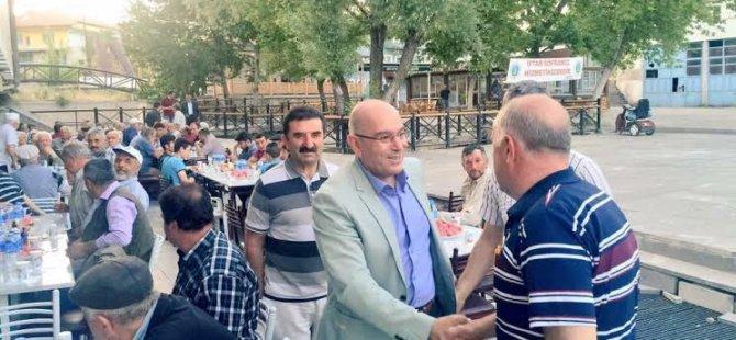 AK PARTİ KAYSERİ İL ÖZVATAN'DA GÖNÜL SOFRASINDA