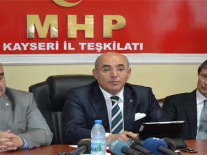 MHP GENEL BAŞKAN YARDIMCISI MEVLÜT KARAKAYA KAYSERİ'DE: