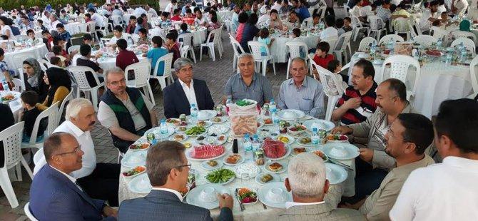 KAYSERİ ŞEKER İFTAR SOFRASI DOĞU TÜRKİSTAN: