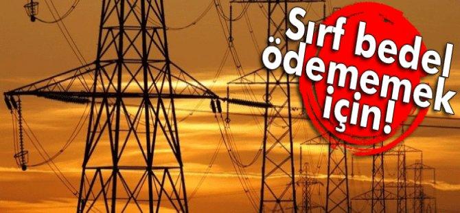 Kaçak kullanmayacaksak elektriğimizi kesin