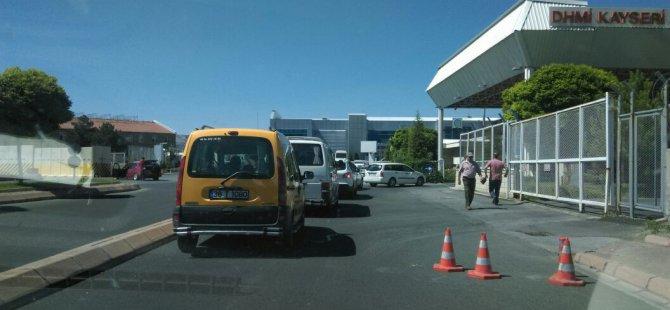 Kayseri Erkilet Havaalanı'nda geniş güvenlik önlemleri alındı