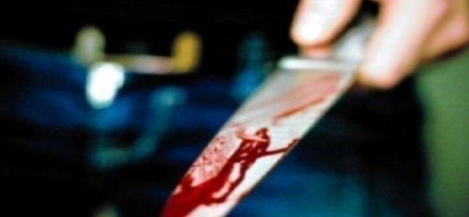 Bünyan'da Tartıştığı karısını meyve bıçağı ile öldürdü