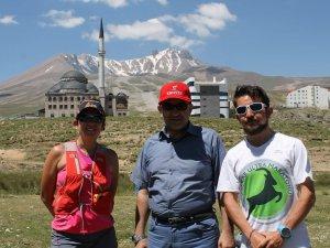 6 ülkeden gelen sporcular Erciyes Dağı'nın etrafında koşacak