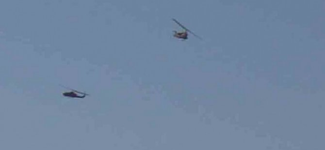 Cumhurbaşkanı Erdoğan'ın kaldığı otele helikopterlerden ateş açıldı