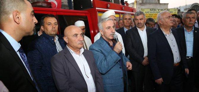 Vali Kamçı Kayserili vatandaşlara teşekkür etti