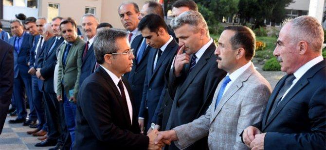Sinop'ta yeni vali göreve başladı