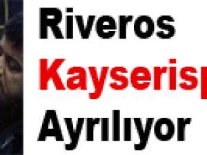 Riveros Kayserispor'dan Ayrılıyor