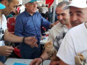 Kayseri Ticaret Odası Demokrasi nöbetine destek olmaya devam ediyor
