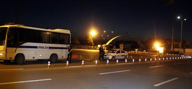 Kayseri'de 12. Hava Üs Komutanlığı ile Hava İkmal Bakım Merkezi'nde operasyon