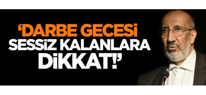Erdoğan'dan, AK Parti'den kurtulmak için şeytanla bile işbirliği yapacak adamlar..