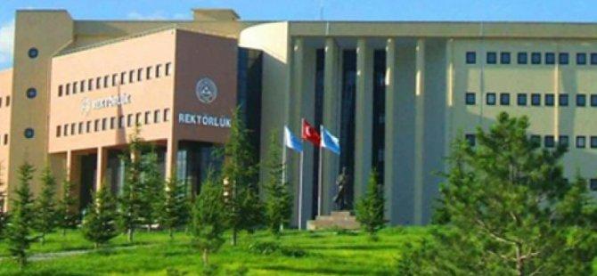 Erciyes üniversitesi'nde  96 personel açığa alındı