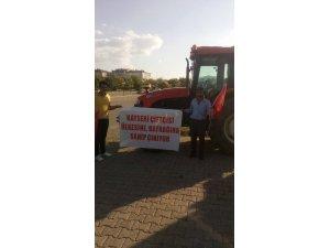 Ebiçli çiftçiler demokrasi nöbetinde