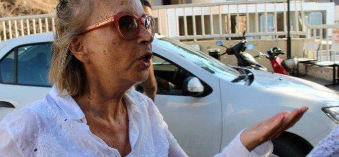 Nazlı Ilıcak, Bodrum'da aracıyla seyahat ederken yakalandı