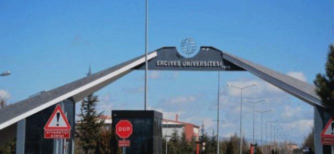 Erciyes Üniversitesi'nde 23 personel daha açığa alındı