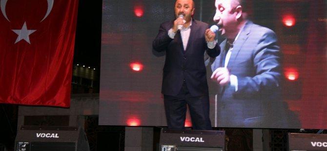 Ömer Döngeloğlu Kayseri'de